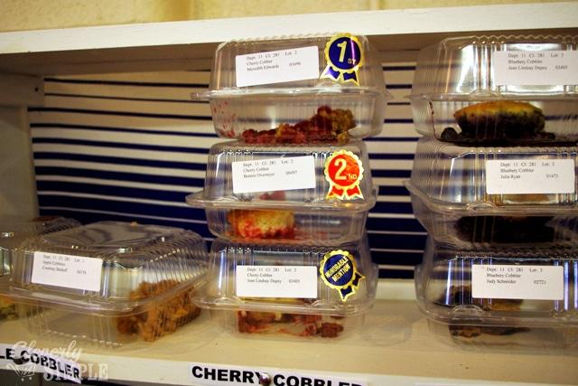 Cherry Cobbler Winning Recipe at County Fair