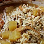 Shredded Pineapple Chicken Crockpot Meal