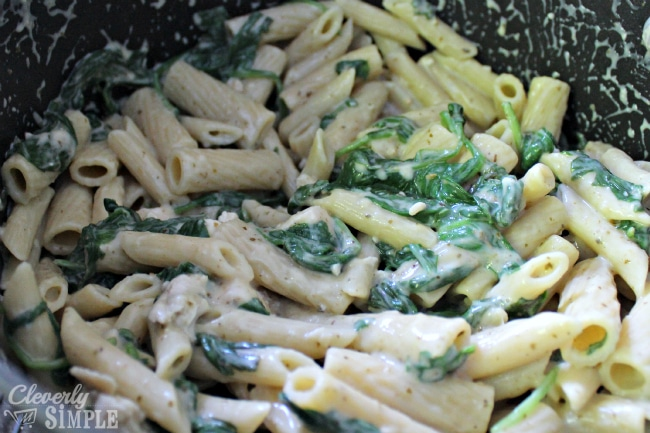 Spinach and Chicken Alfredo Recipe