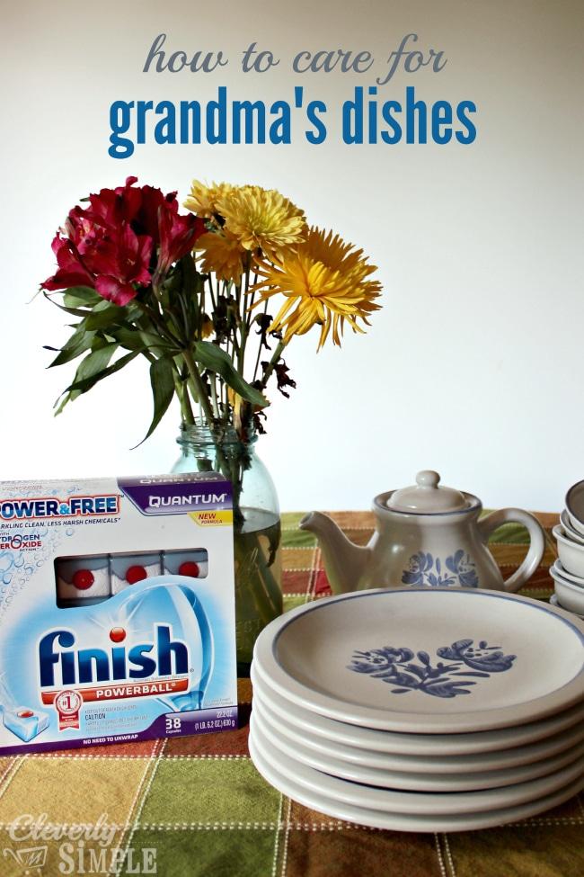 best dishwasher detergent for grandmas dishes