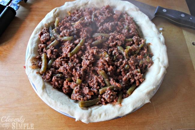 Homemade Hamburger Pie