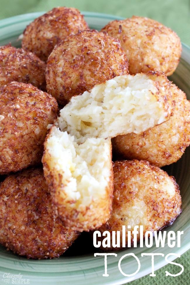 cauliflower recipe tots