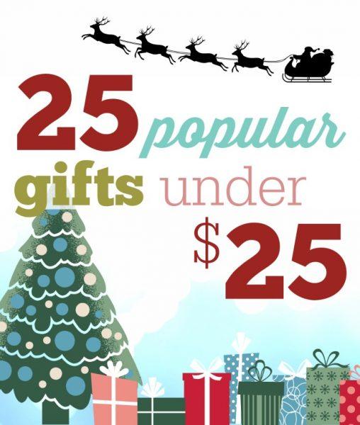 25 popular gifts under 25 dollars