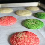 Baked easy sugar cookie