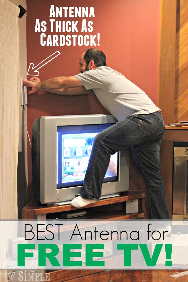 Best antenna for free tv mohu