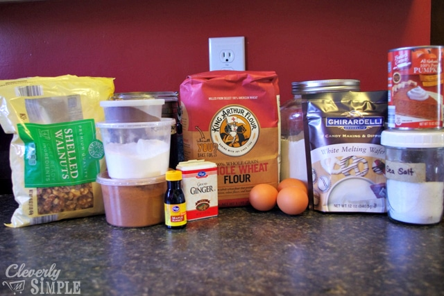 Ingredients for Homemade Biscotti