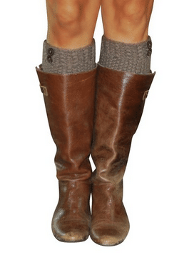 Lucky Love Knitted Boot Cuffs