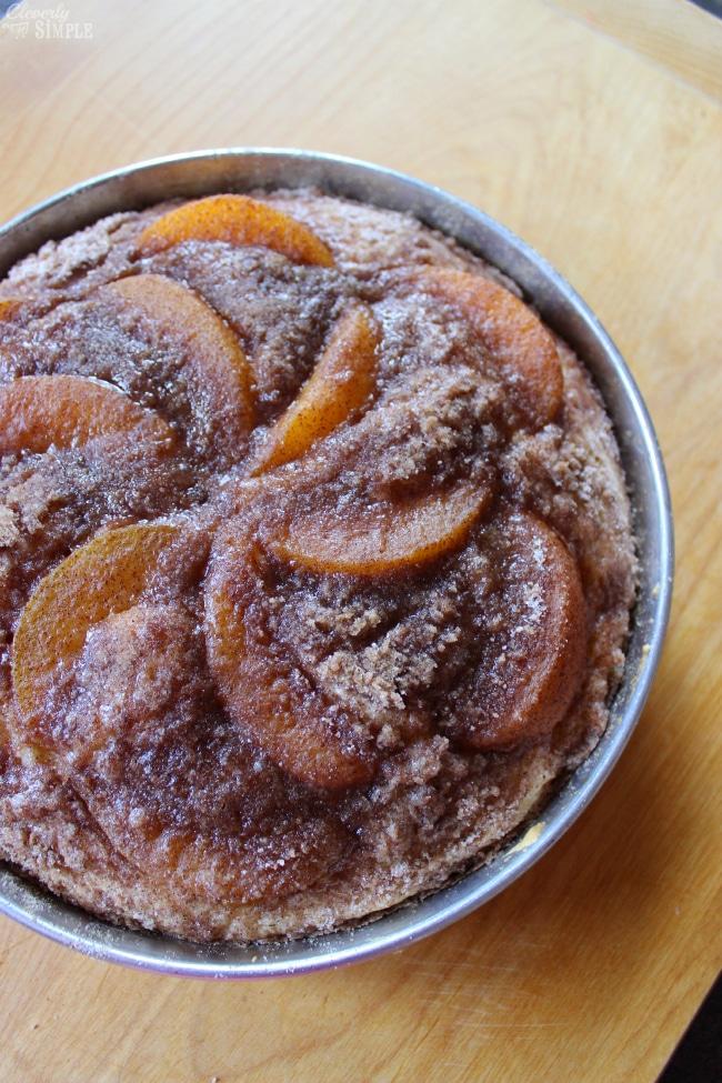 peach CoffeeCake Recipe
