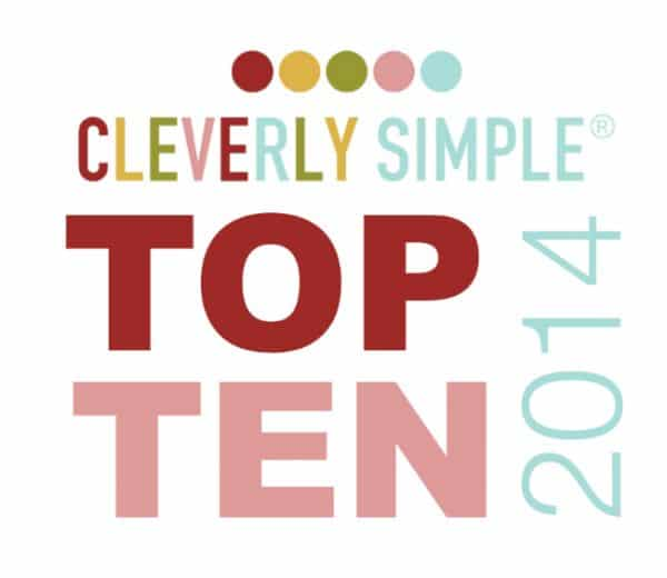 Cleverly Simple Top Ten 2014