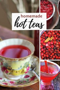 Homemade Tea recipes
