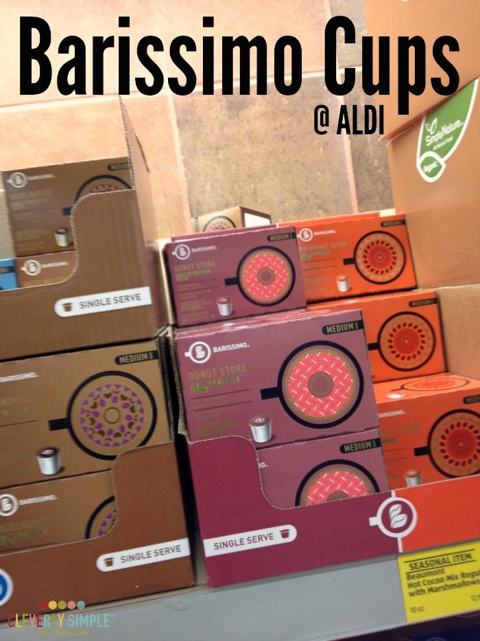 Barissimo Cups at Aldi