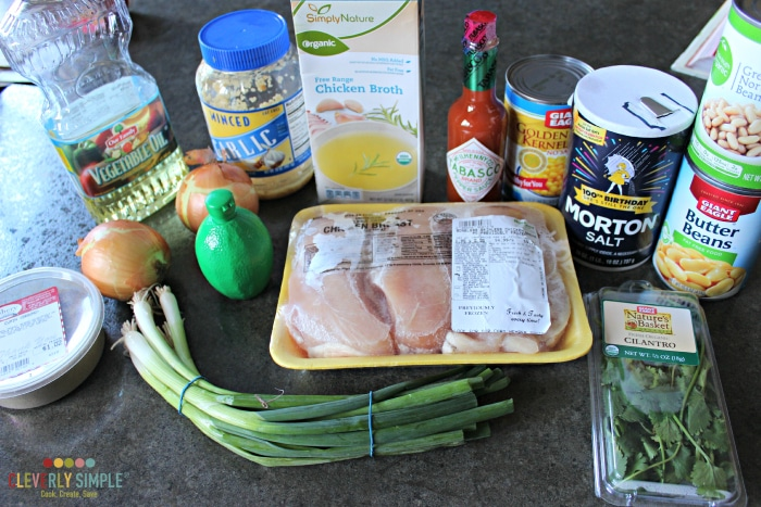 Crock Pot Chicken Chili Recipe Ingredients