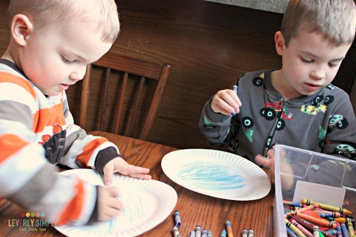 Making Paper Plate Crafts Ocean