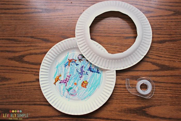 Ocean Paper Plate Craft