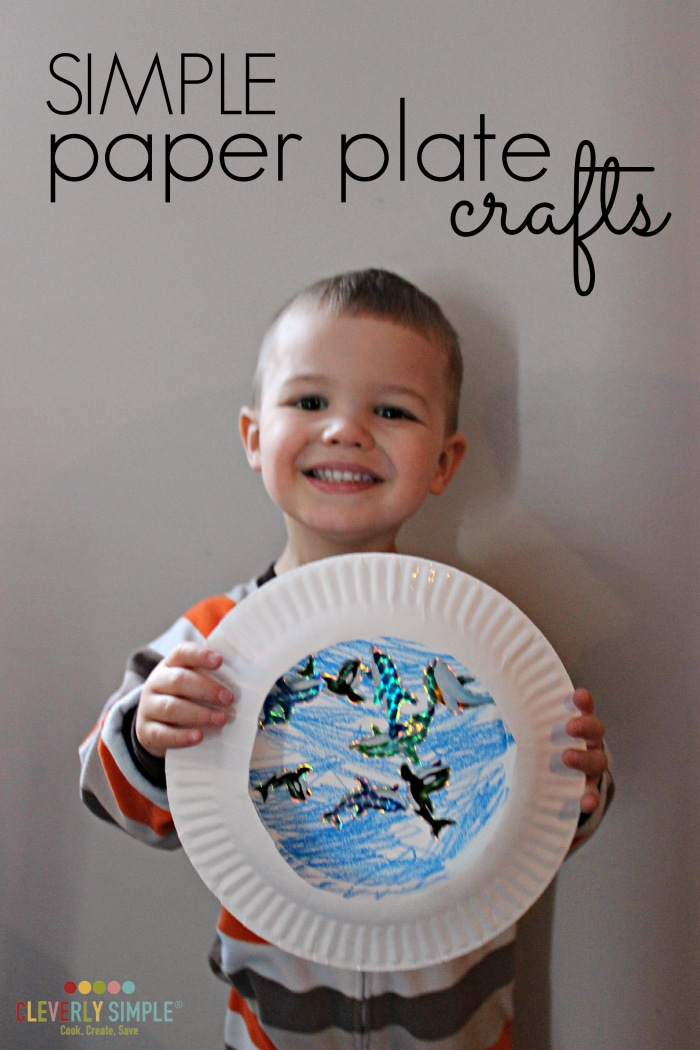 Simple Paper Plate Crafts