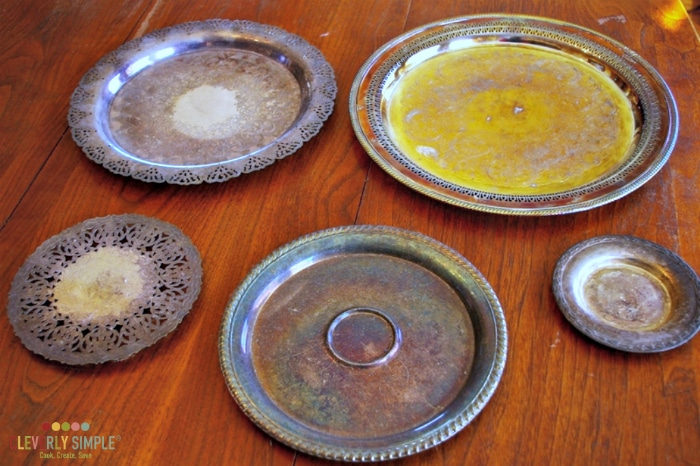 What to do with silver platters