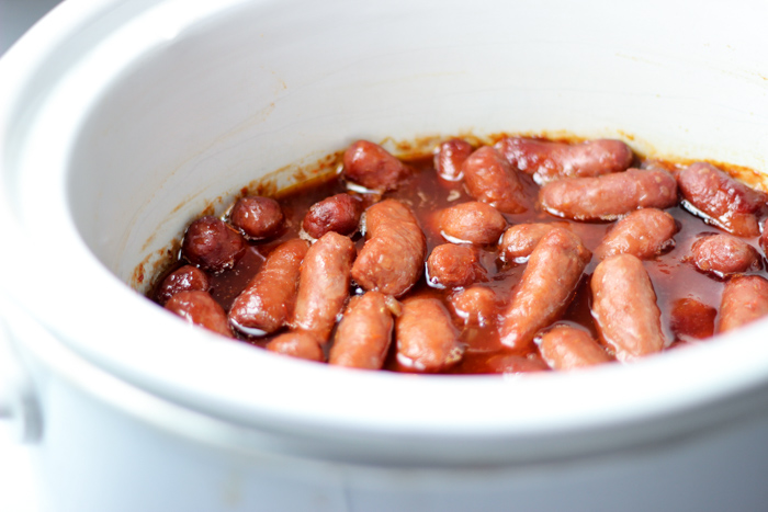 little smokies cooked in slow cooker