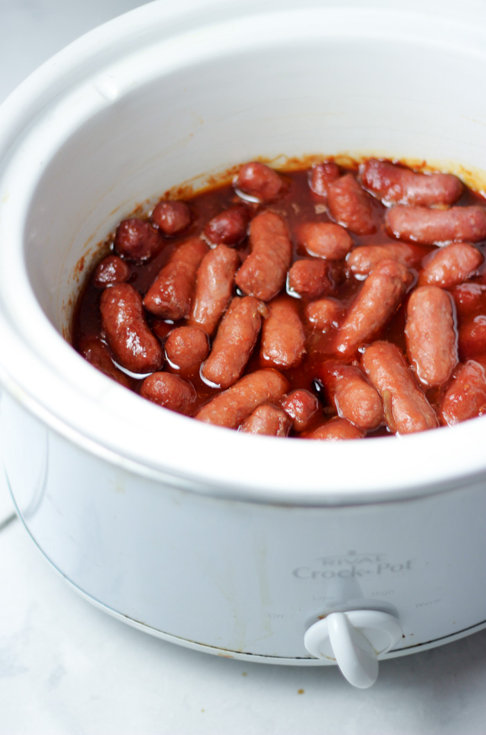 lil smokies recipe with grape jelly in crockpot