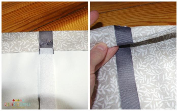 How to sew roman shade homemade