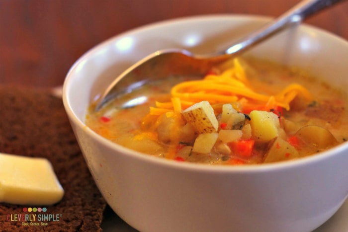 delicious potato soup