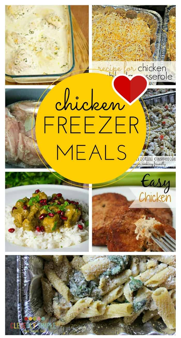 chicken freezer meal pictures