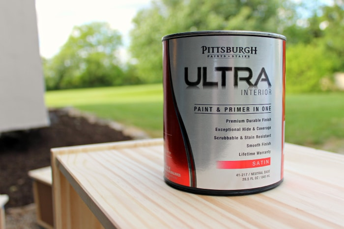 Pittsburgh Paints on Ikea Rast