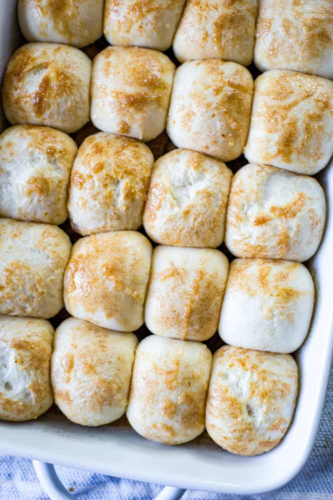 rolls that have rise for sticky buns