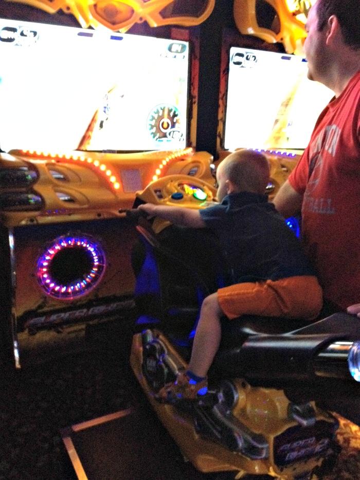 Arcade at Hotel Breakers