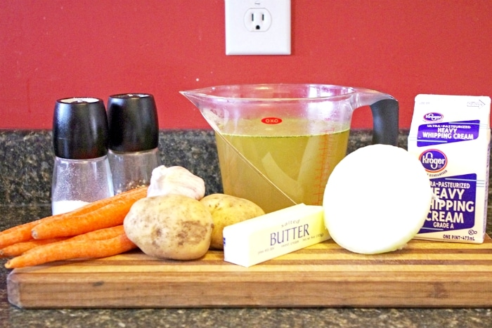 Recipe for Carrot Soup Ingredients