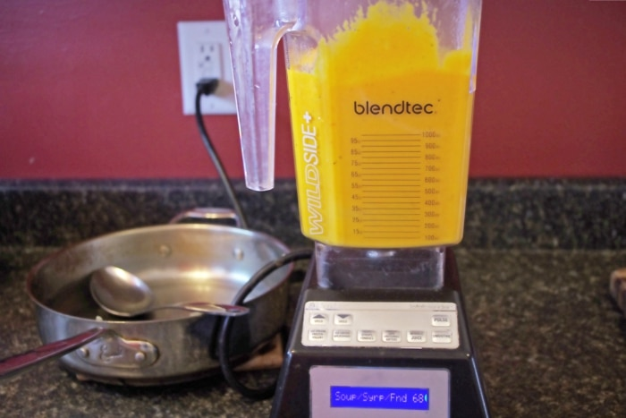 making bisque with blendtec
