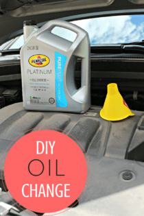 DIY Oil Change – And Attainable Goals
