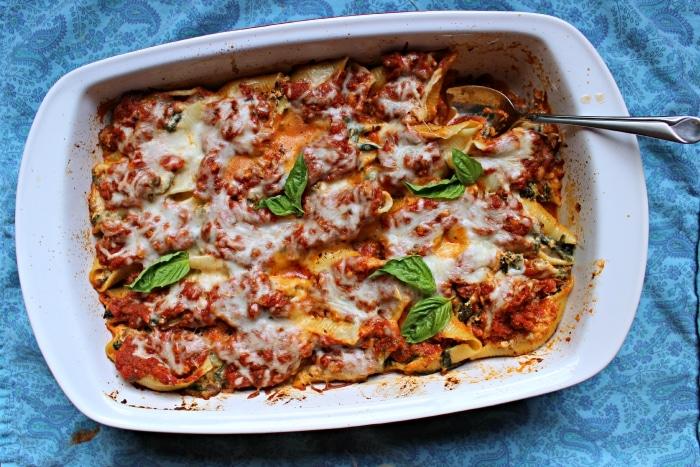 lasagna shells