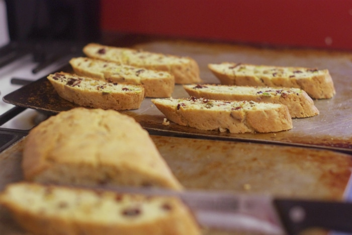 Christmas Biscotti recipe for gifts
