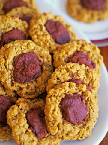 Oatmeal Fudge Cookies