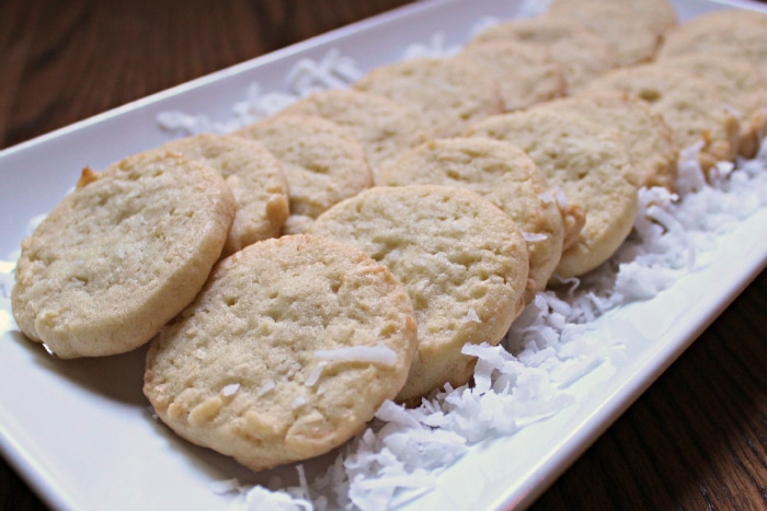 coconut cookies are easy to make for the holidays
