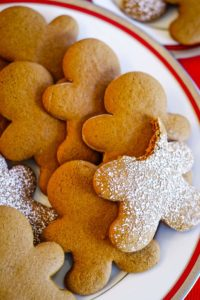 best gingerbread cookies on plate