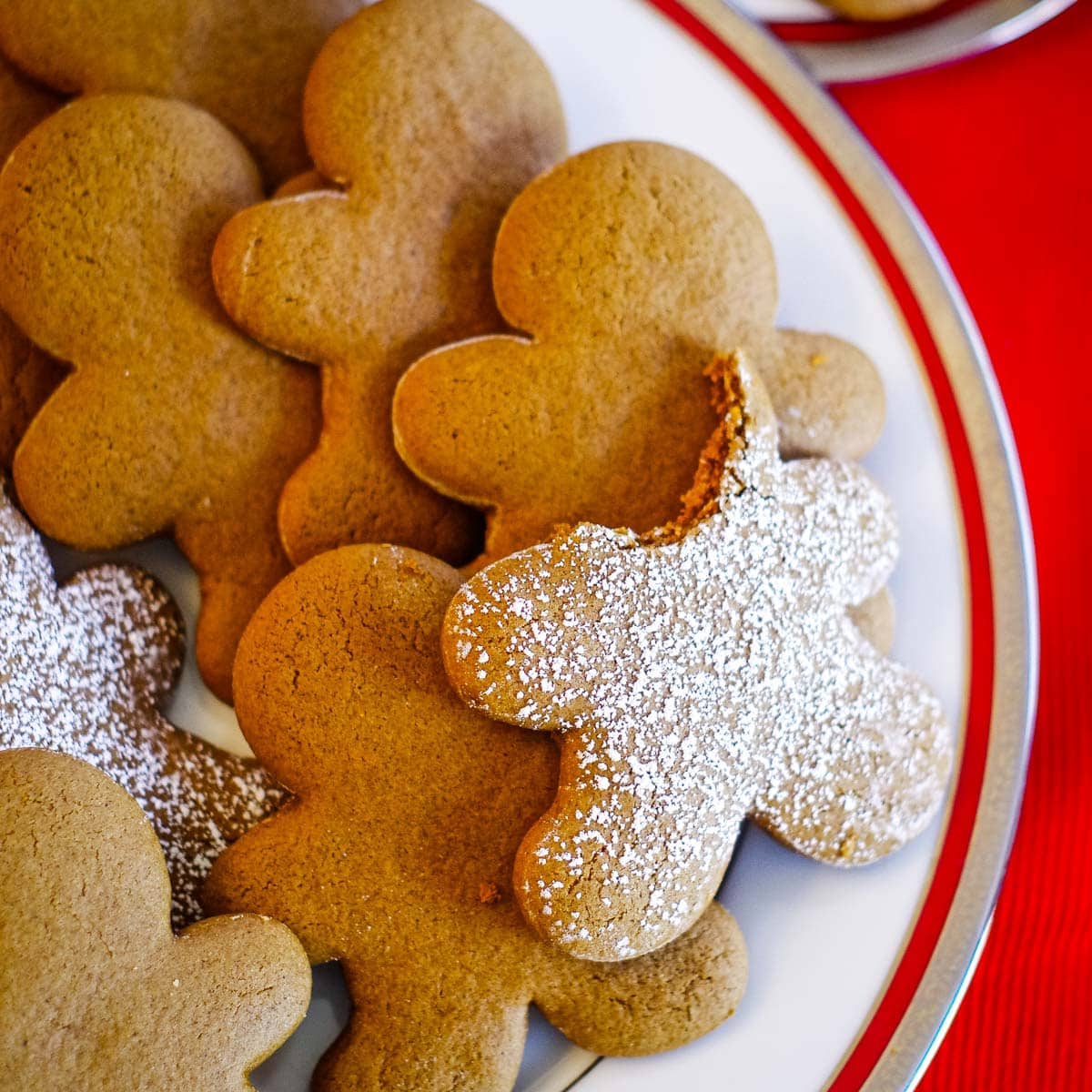 The Best Gingerbread Cookies Recipe Video Tutorial Cleverly Simple