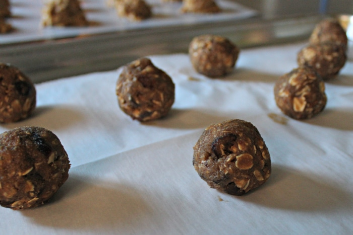 healhty monster cookie recipe balls