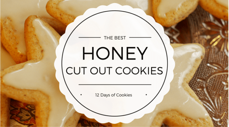 honey cut out cookies