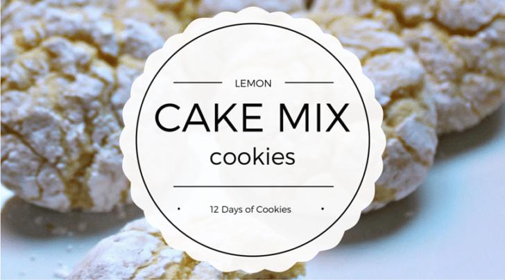 lemon cake mix cookie recipe