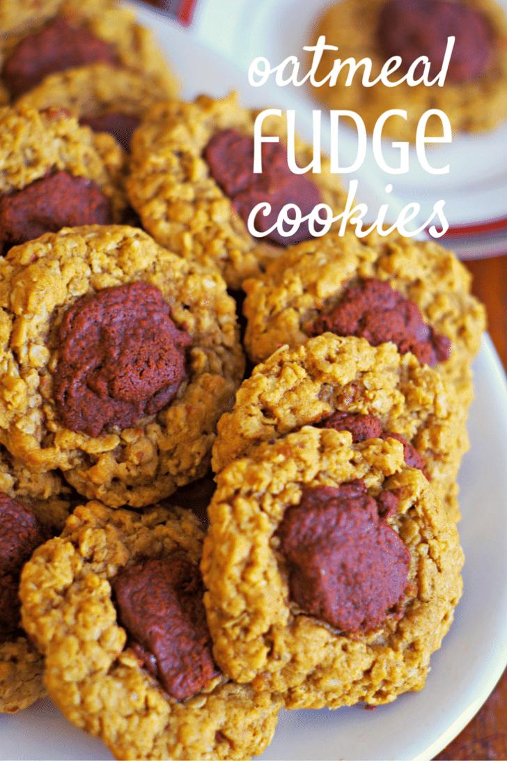 oatmeal fudge cookie recipe