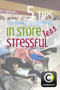 Five Ways to Make Shopping In Store Less Stressful