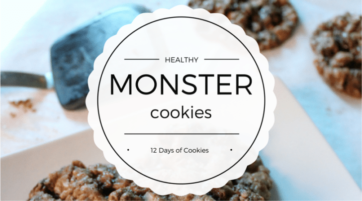 healthy monster cookie recipe