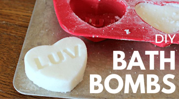DIY homemade Bath Bombs fb