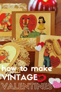How to make a Vintage Valentine's Day Card