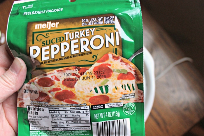 slow cooker pizza turkey pepperoni