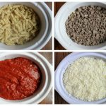 how to layer and make crockpot pizza