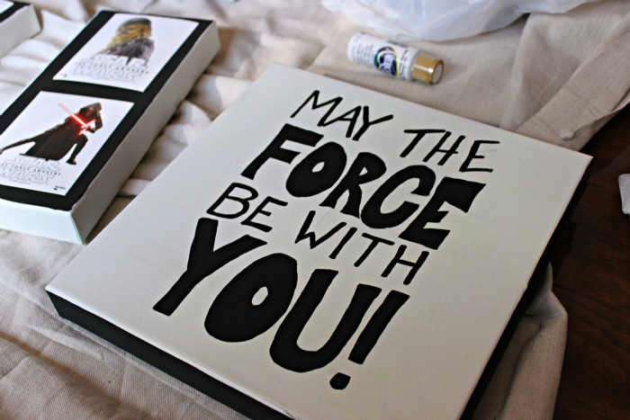 May the force be with you star wars cereal decals