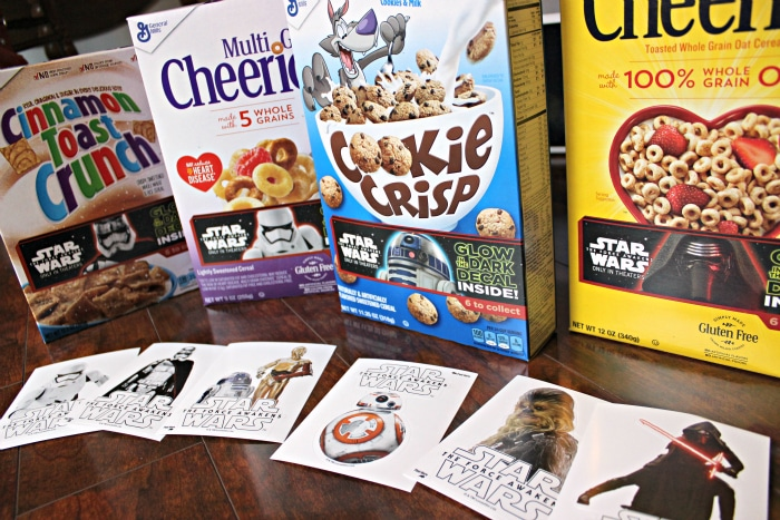 Star wars in General Mills Cereal