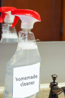homemade glass cleaner with ammonia